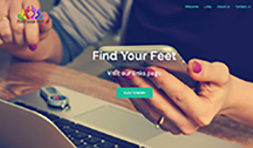 find your feet website image