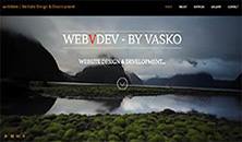 webvdev website image